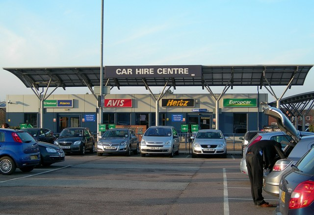 autoverhuur vliegveld